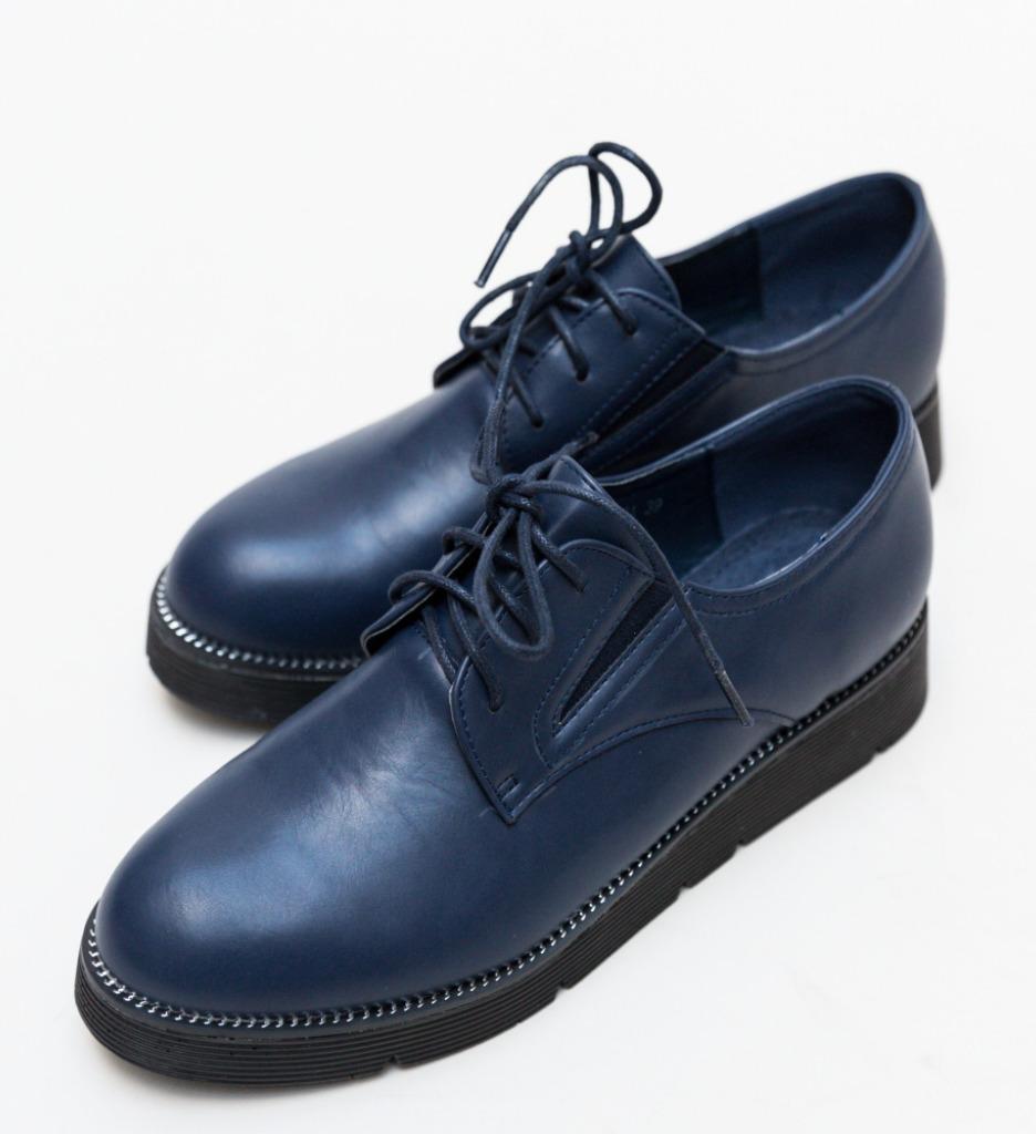 Pantofi Casual Bueno Bleumarin