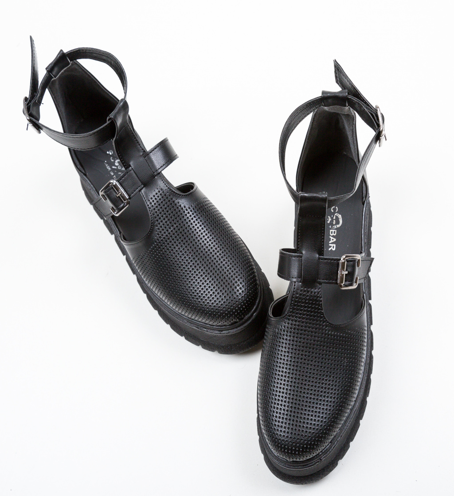 Pantofi Casual Clonata Negri 2