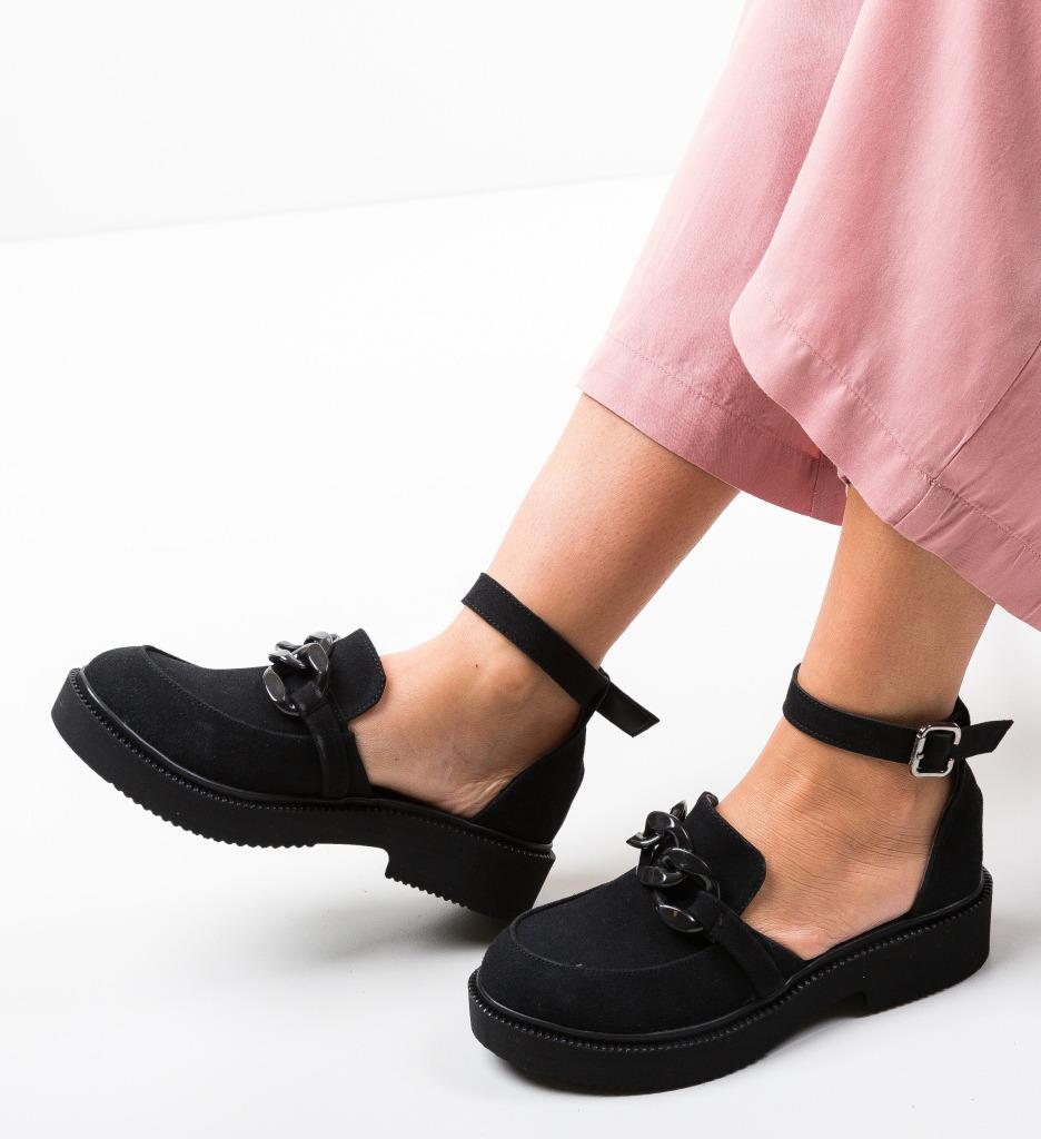 Pantofi Casual Dimic Negri