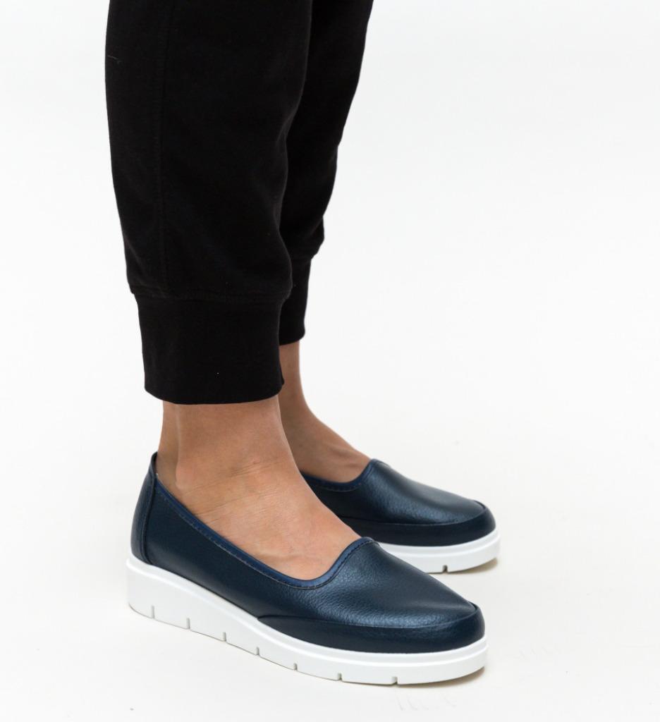 Pantofi Casual Dole Albastri 2
