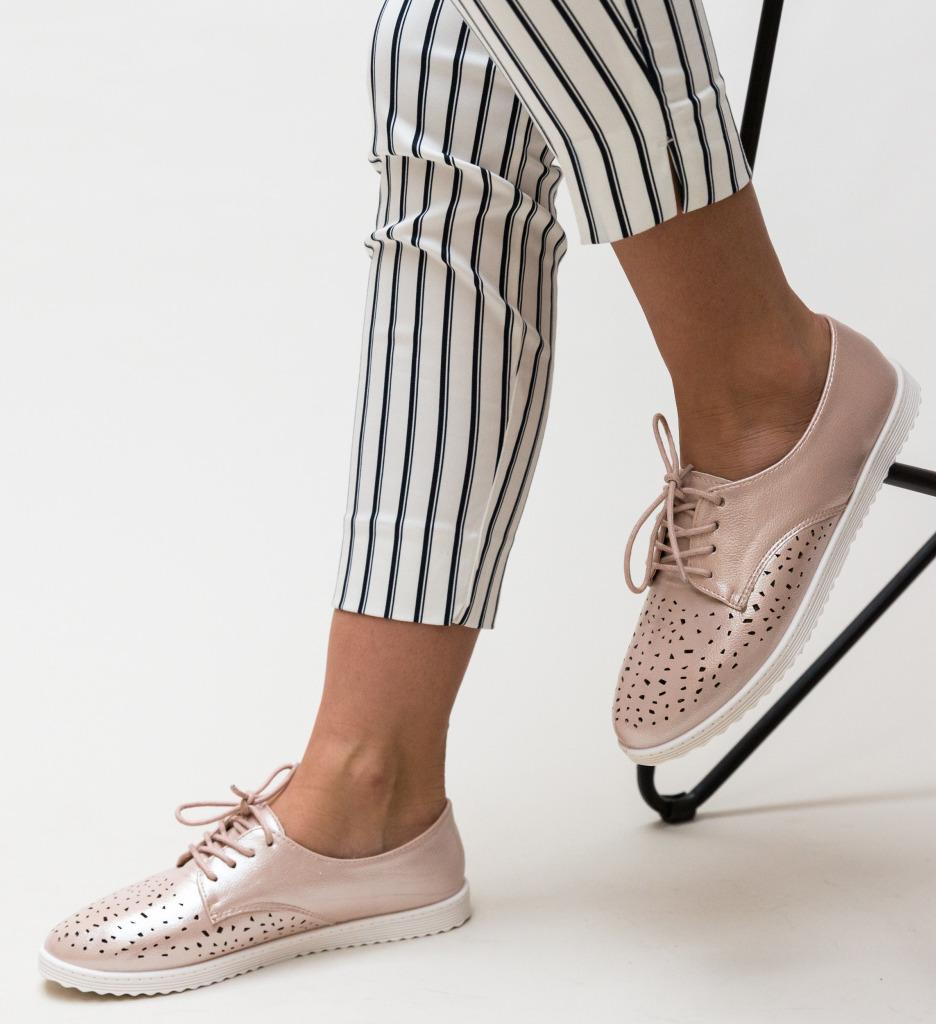 Pantofi Casual Doper Roz