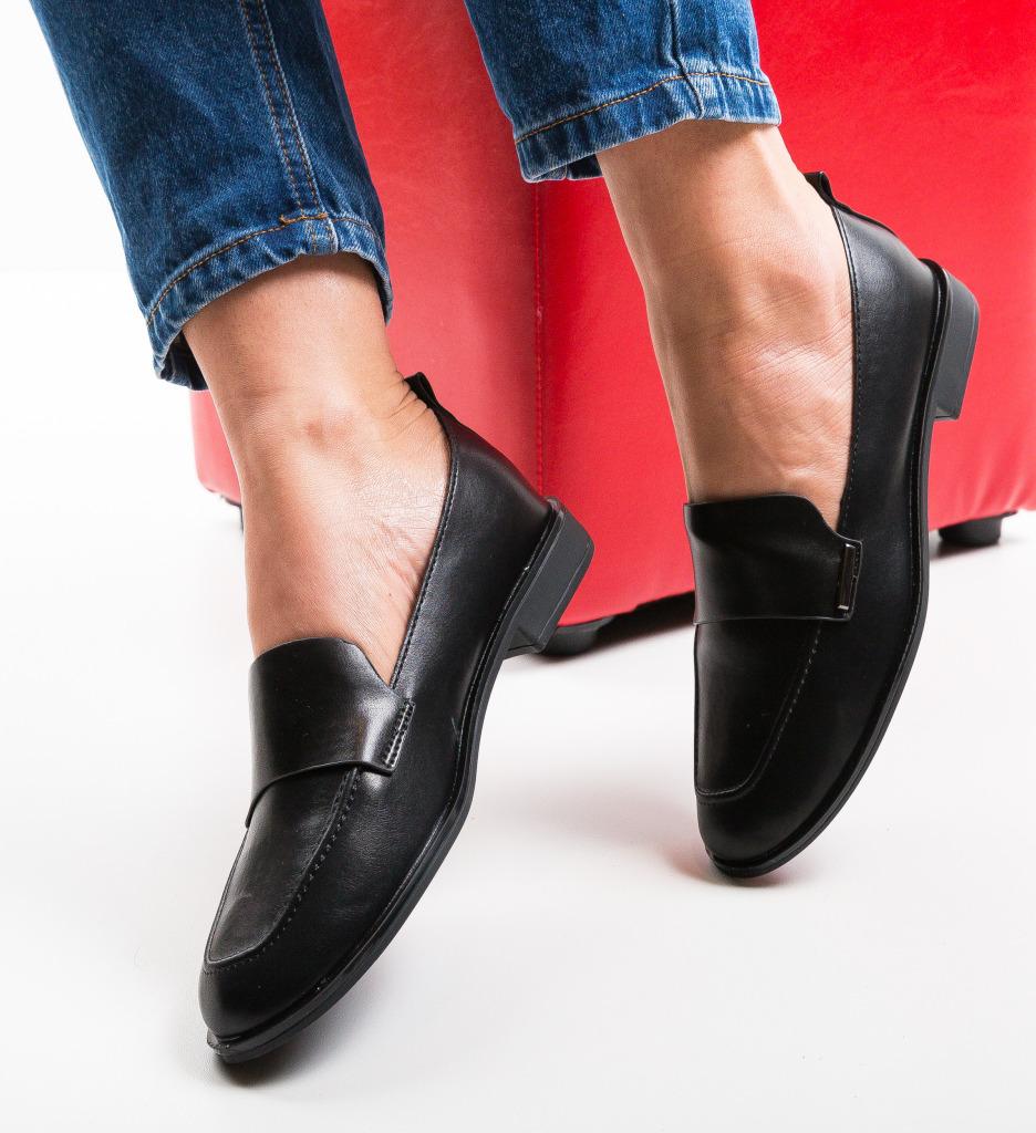 Pantofi Casual Feopa Negri 2