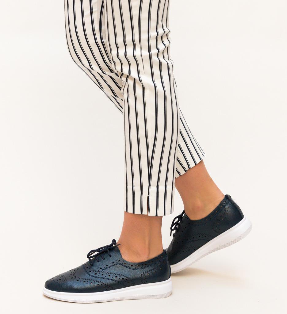 Pantofi Casual Indigo Bleumarin