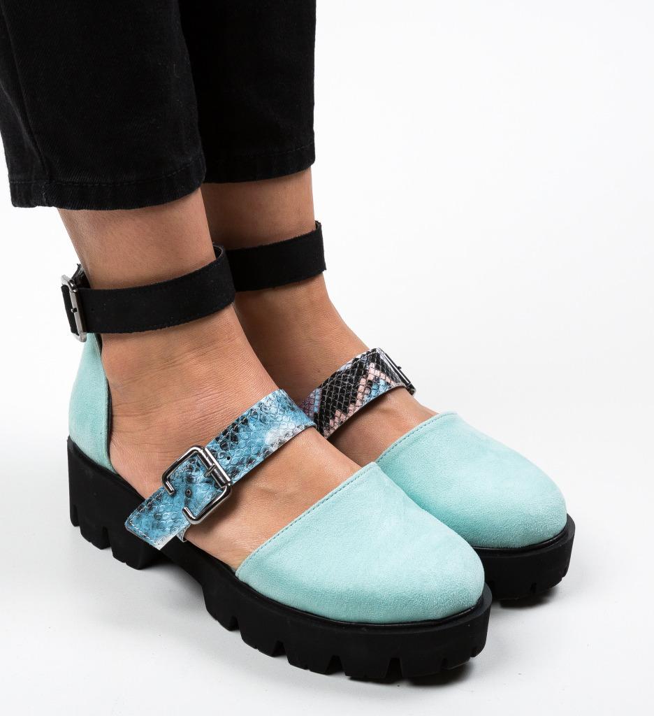 Pantofi Casual Jailala Turcoaz