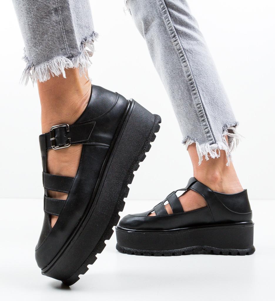 Pantofi Casual Karagam Negri 4