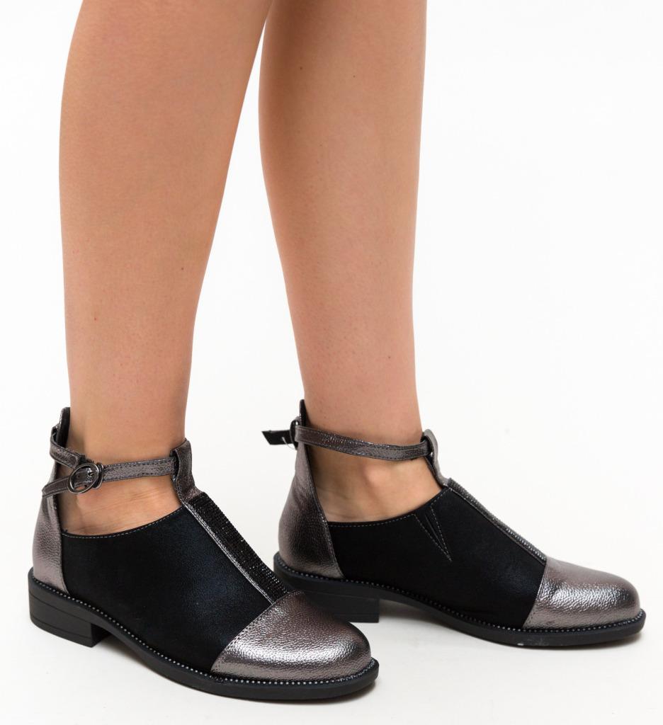 Pantofi Casual Kawai Gri