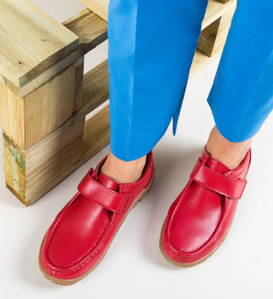 Pantofi Casual Kidd Rosii