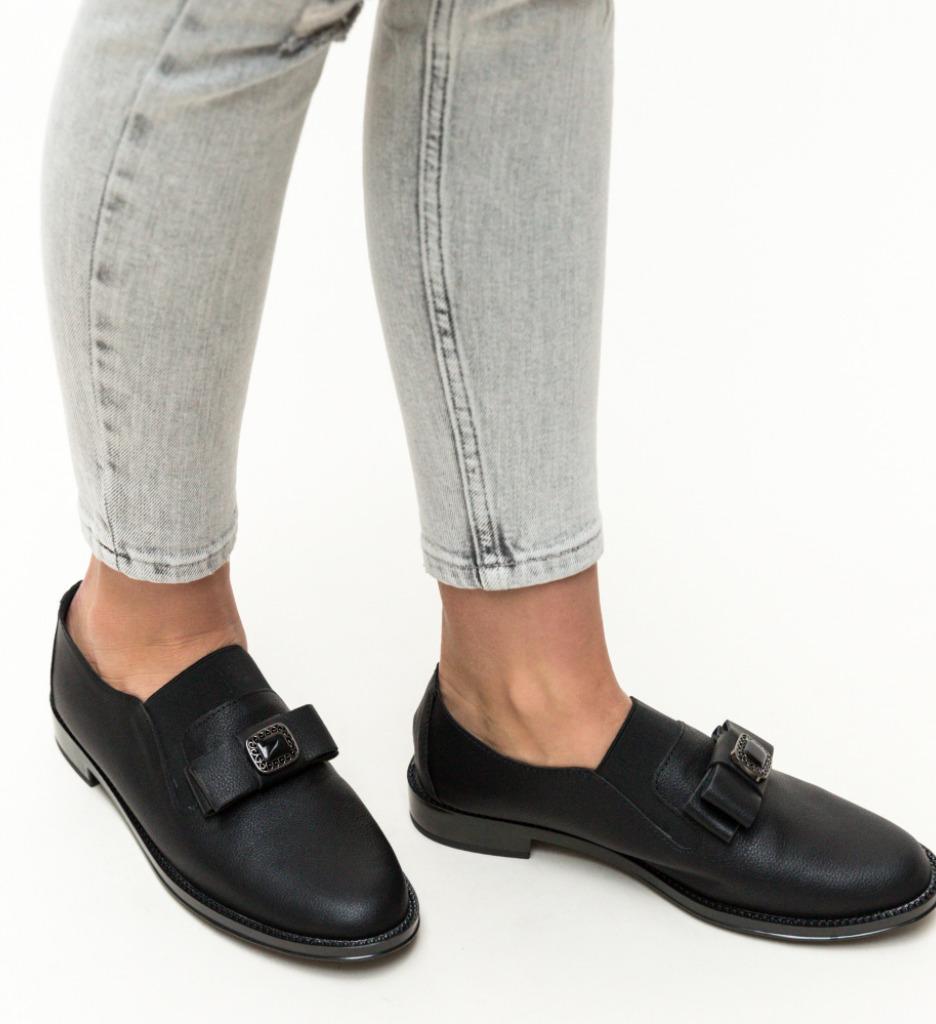 Pantofi Casual Lamb Negri