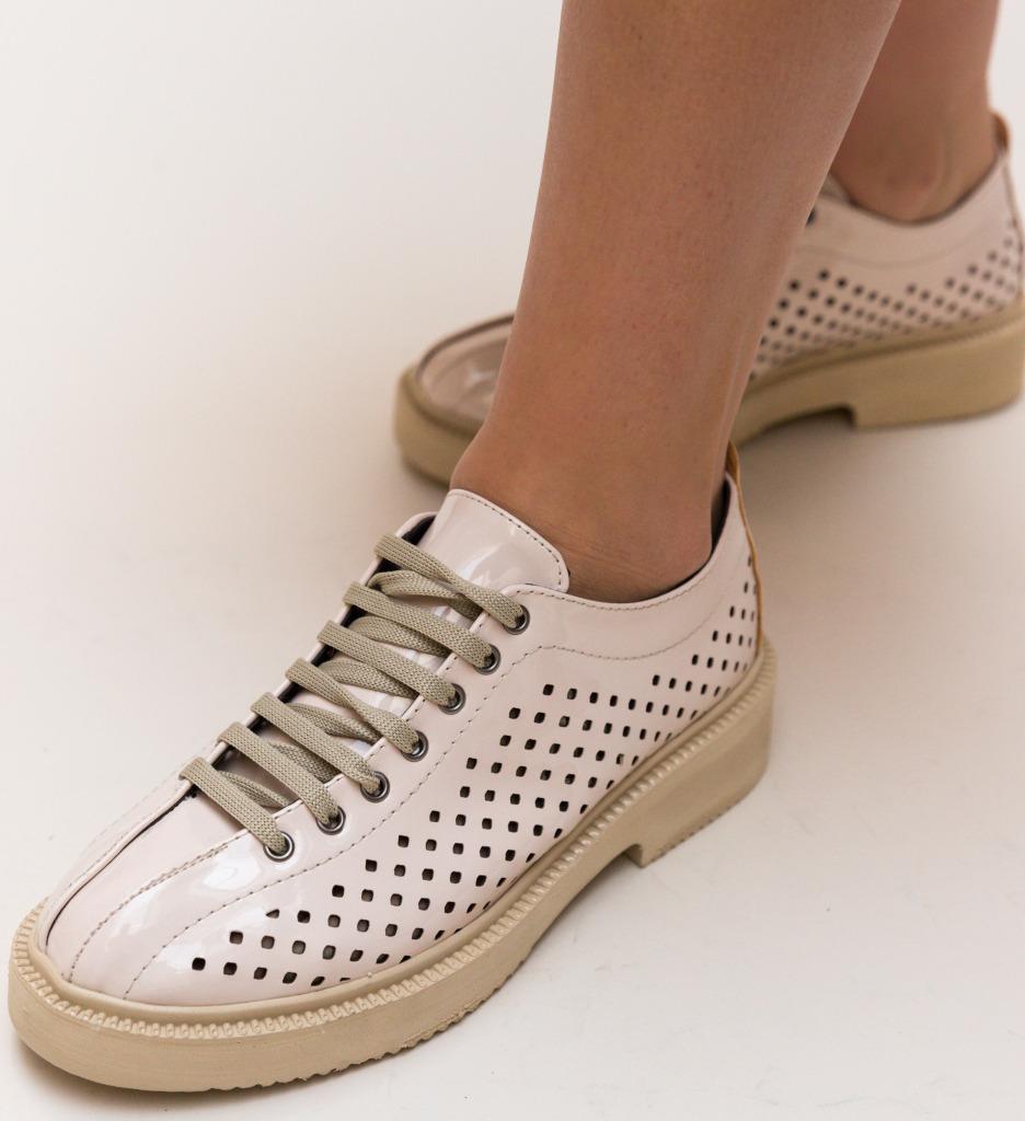 Pantofi Casual Liban Bej