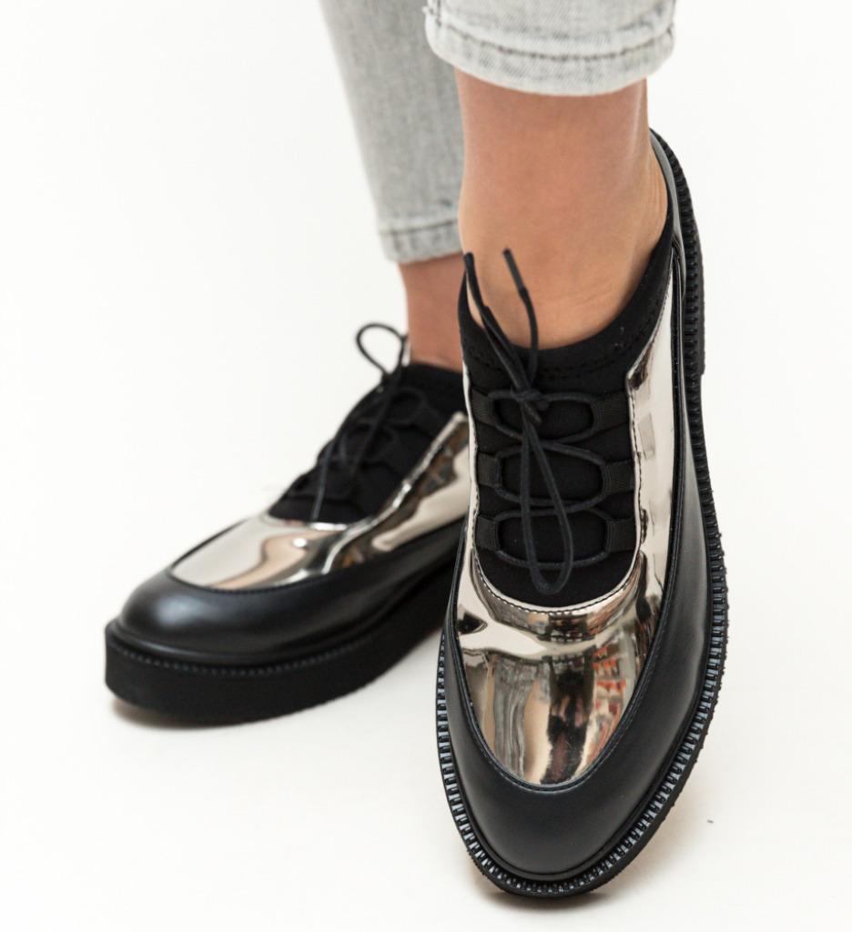 Pantofi Casual Lukosi Gri