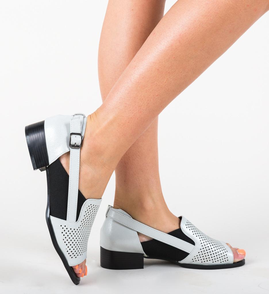 Pantofi Casual Mantelis Argintii
