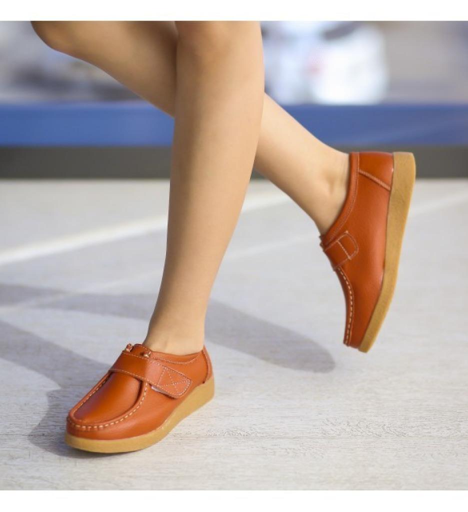 Pantofi Casual Monta Portocalii imagine 2021