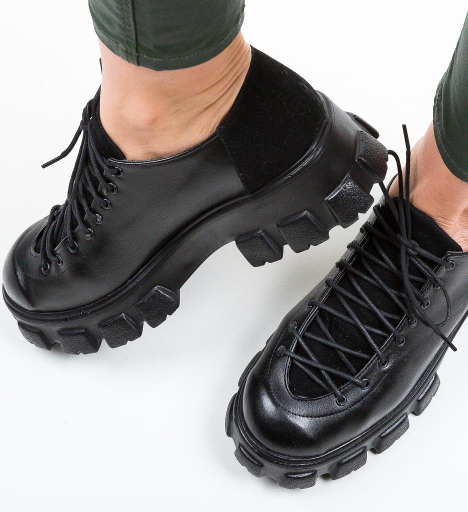 Pantofi Casual Polopa Negri