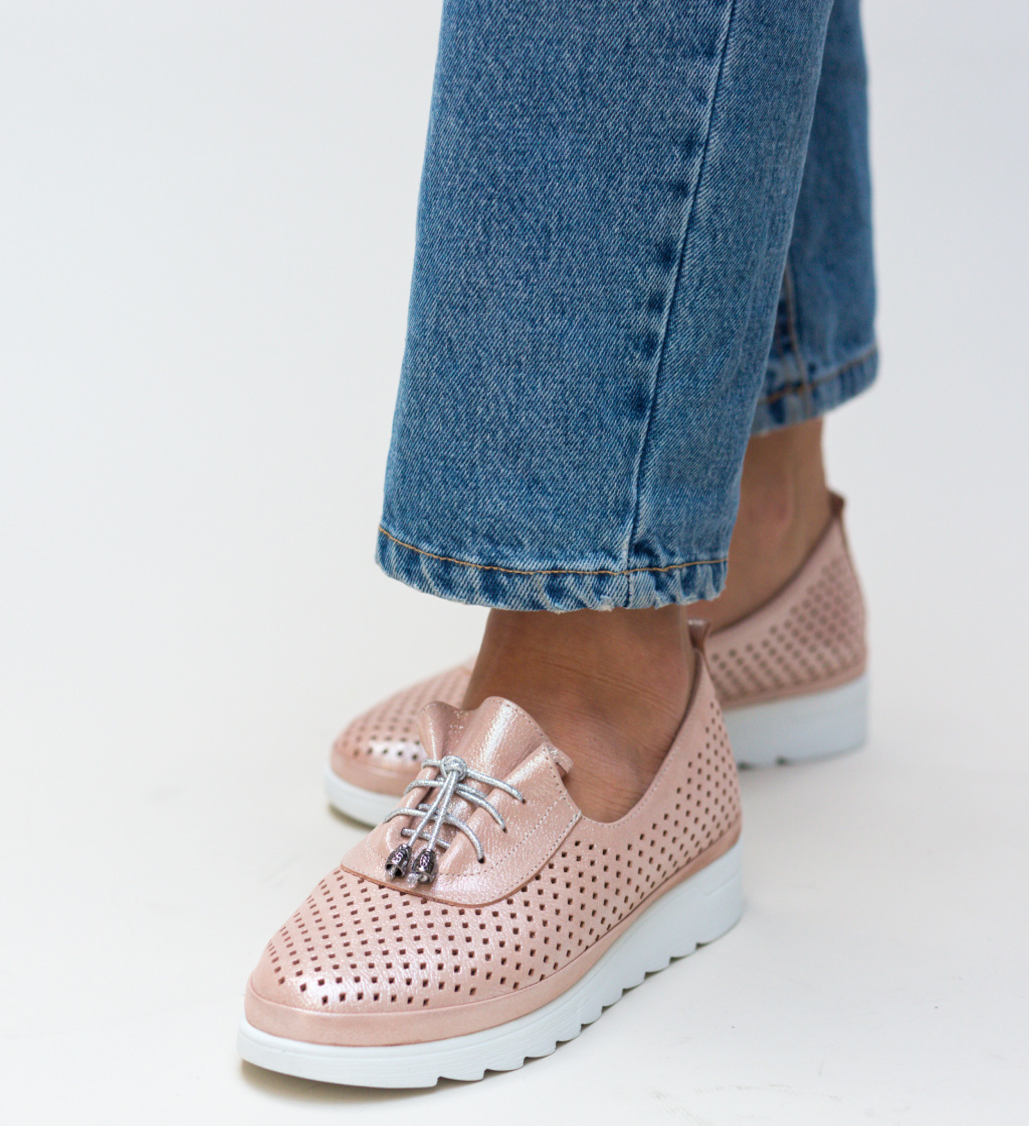 Pantofi Casual Praga Roz