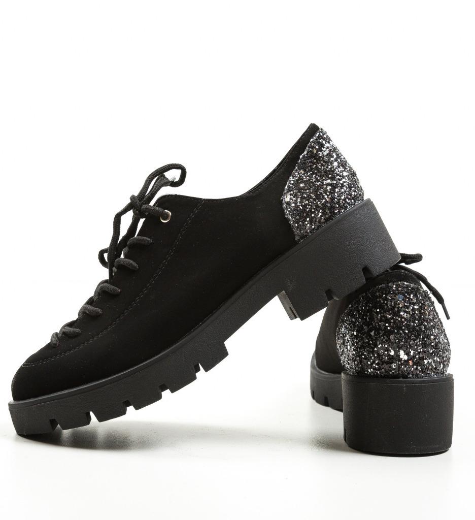 Pantofi Casual Rees Negri 3