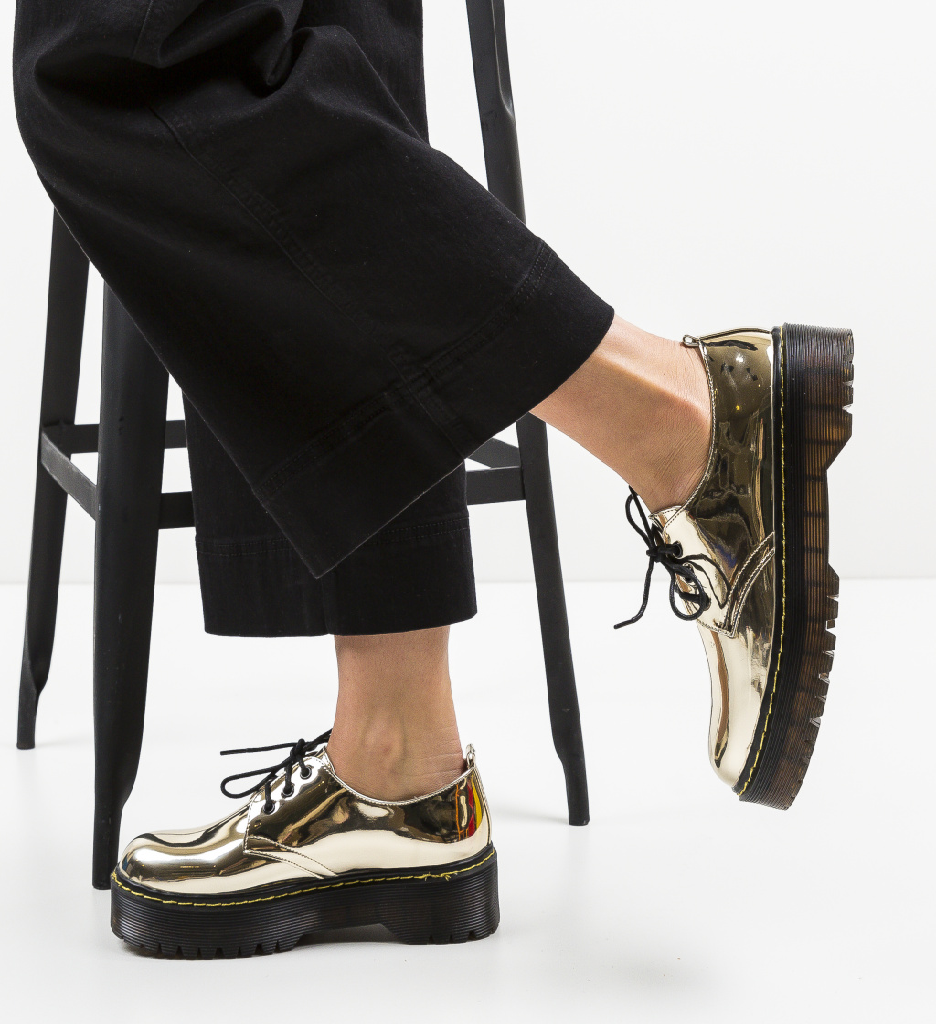 Pantofi Casual Riley Aurii