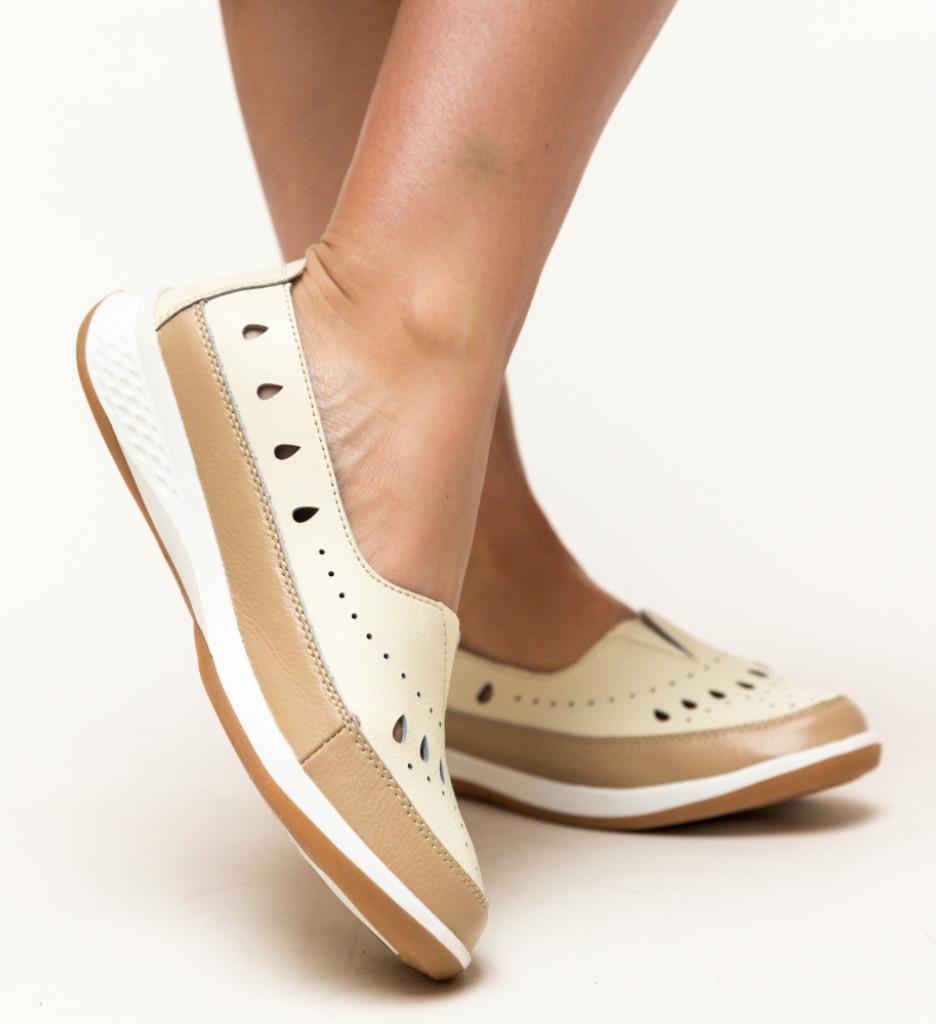 Pantofi Casual Viking Camel