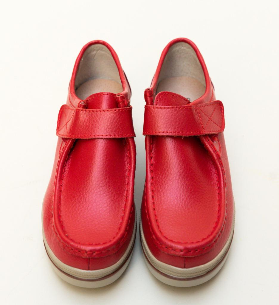Pantofi Casual Vinay Rosii