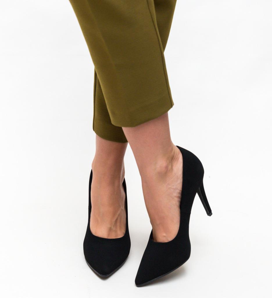 Pantofi Cruze Negri