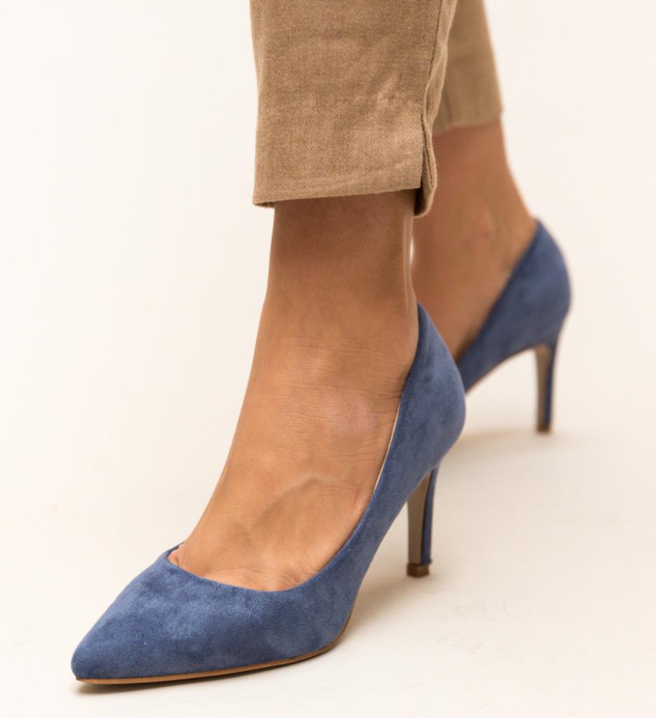 Pantofi Deaco Albastri