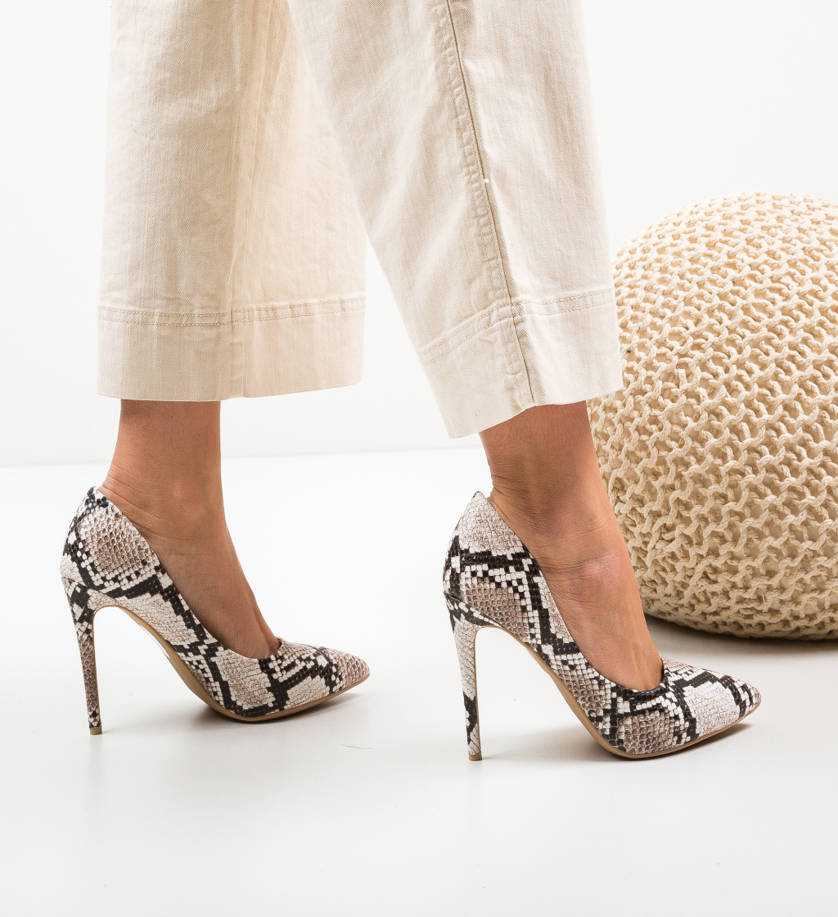 Pantofi Emmy Bej