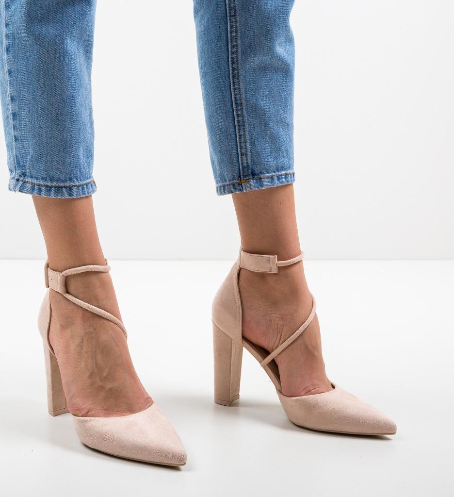 Pantofi Iglor Bej