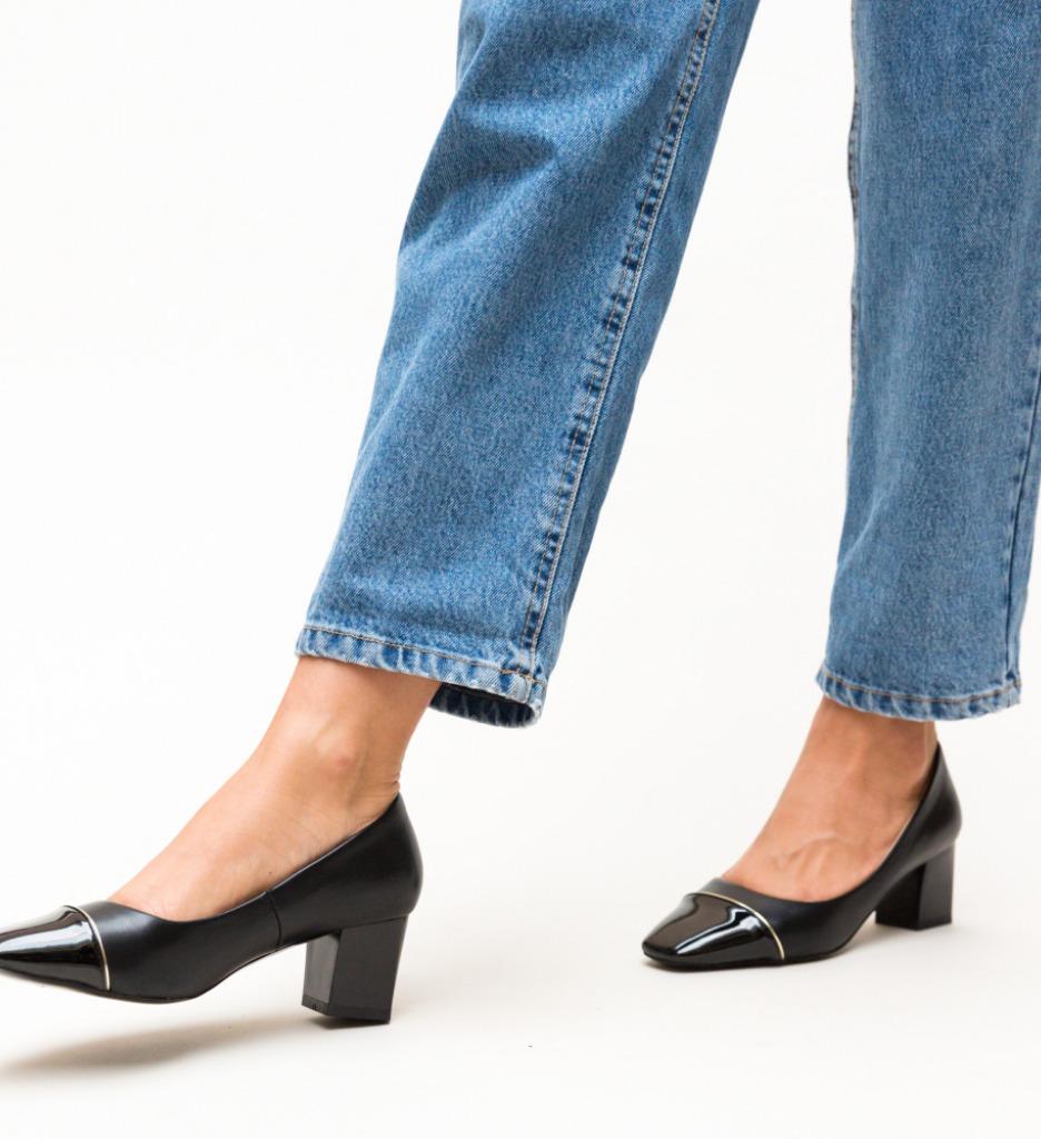 Pantofi Jack Negri imagine