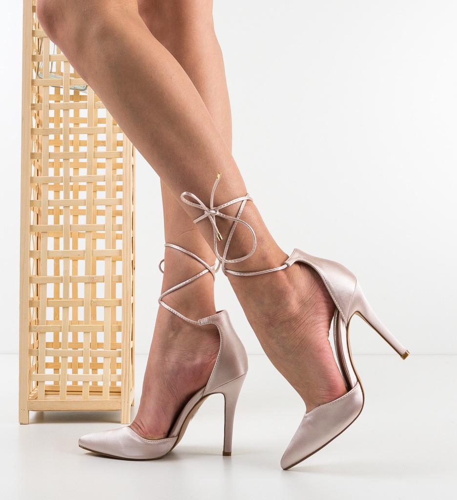Pantofi Jimmy Nude