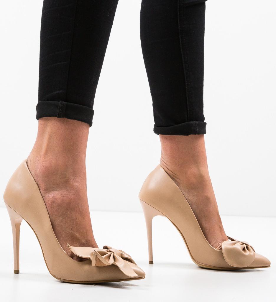 Pantofi Juanita Bej 3