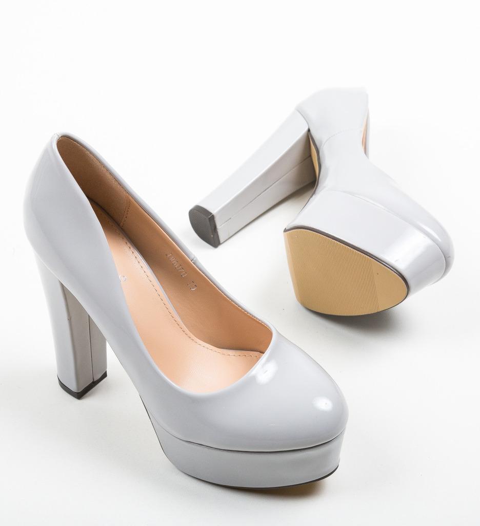 Pantofi Kobi Gri