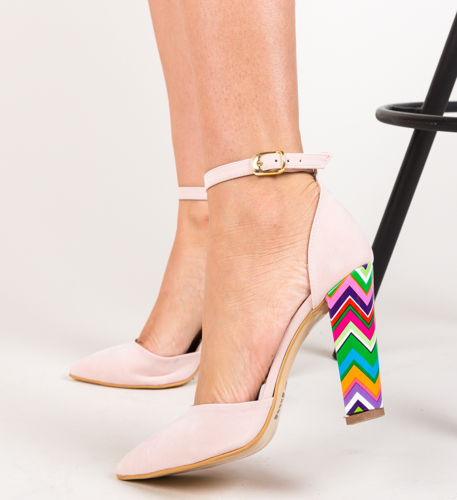 Pantofi Kyron Roz 2