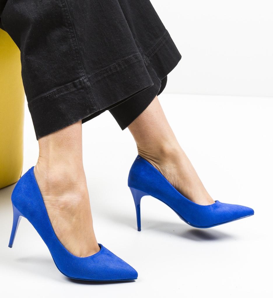 Pantofi Mackie Albastri