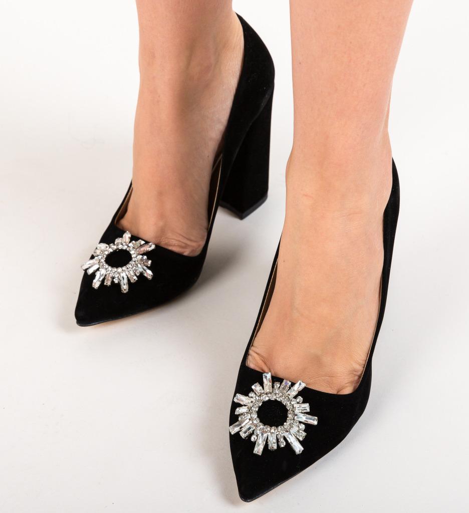 Pantofi Maverick Negri