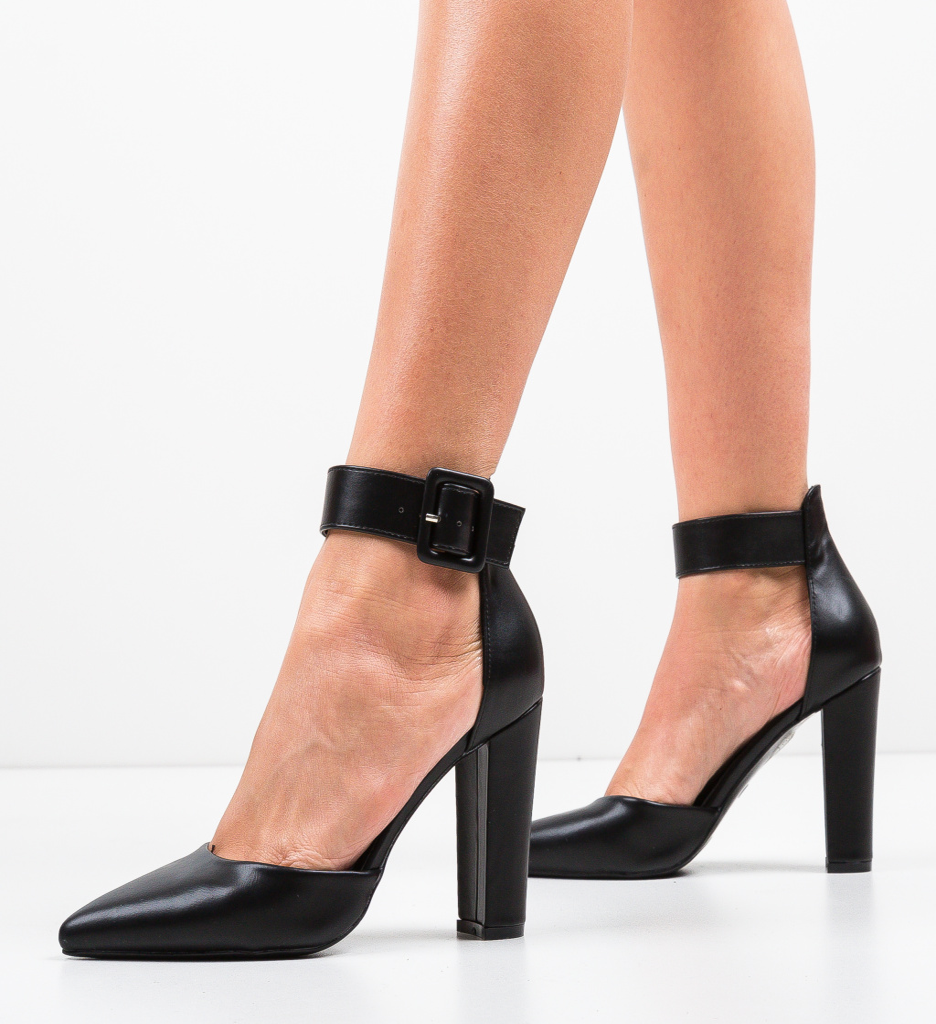 Pantofi Nathan Negri