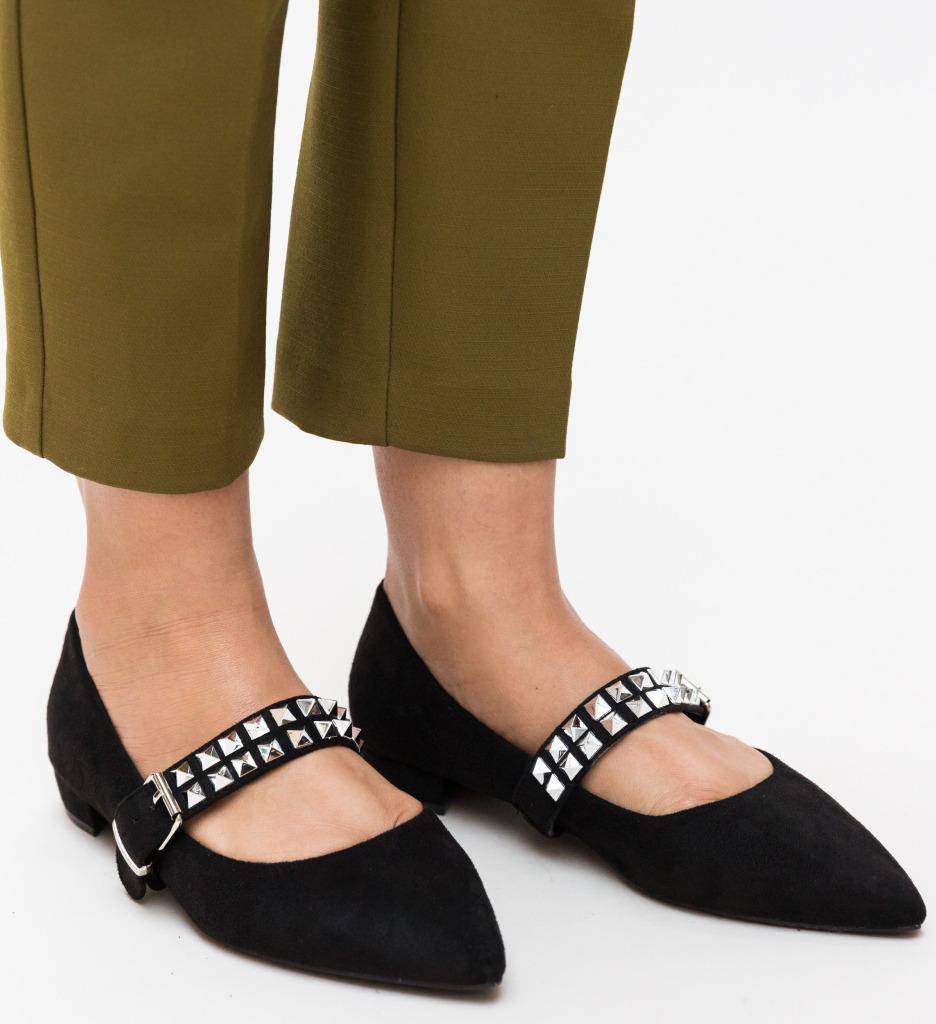 Pantofi Nour Negri