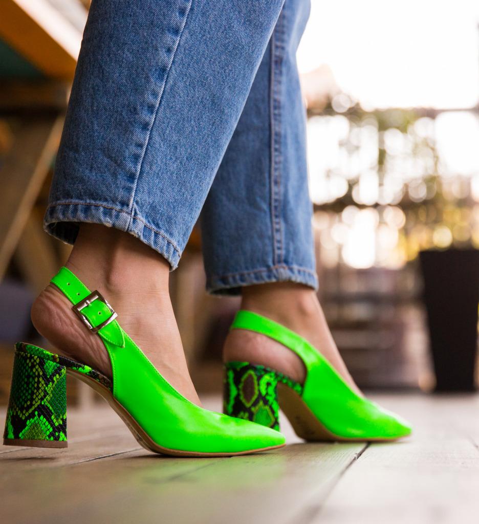 Pantofi Palalama Verzi