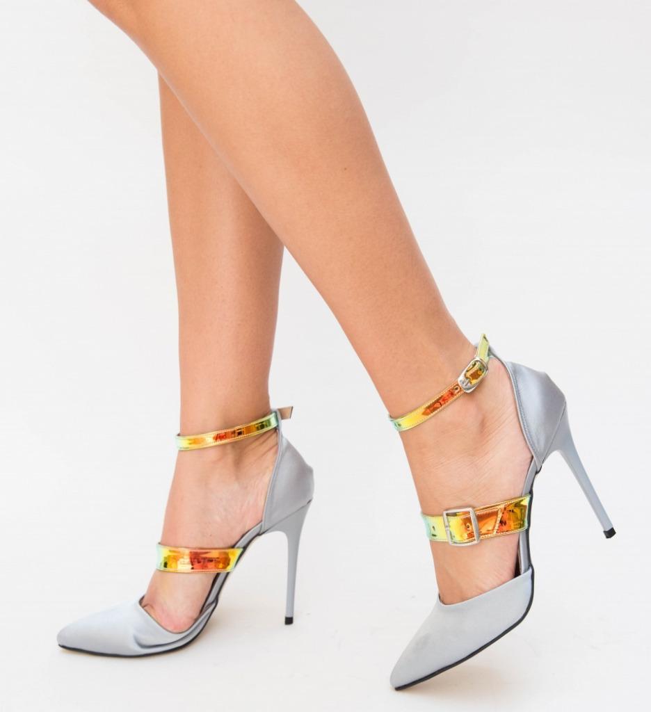 Pantofi Ricio Gri