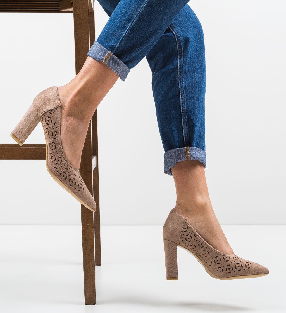 Pantofi Roc Khaki