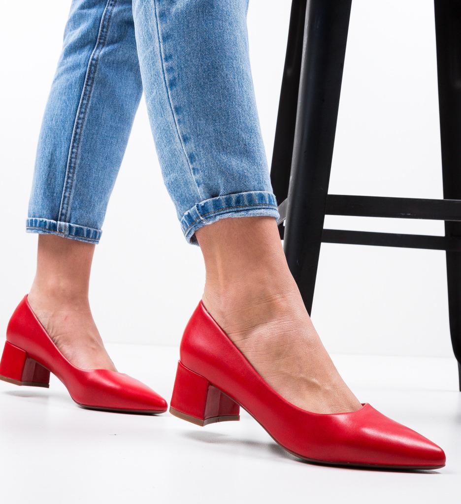 Pantofi Shana Rosii