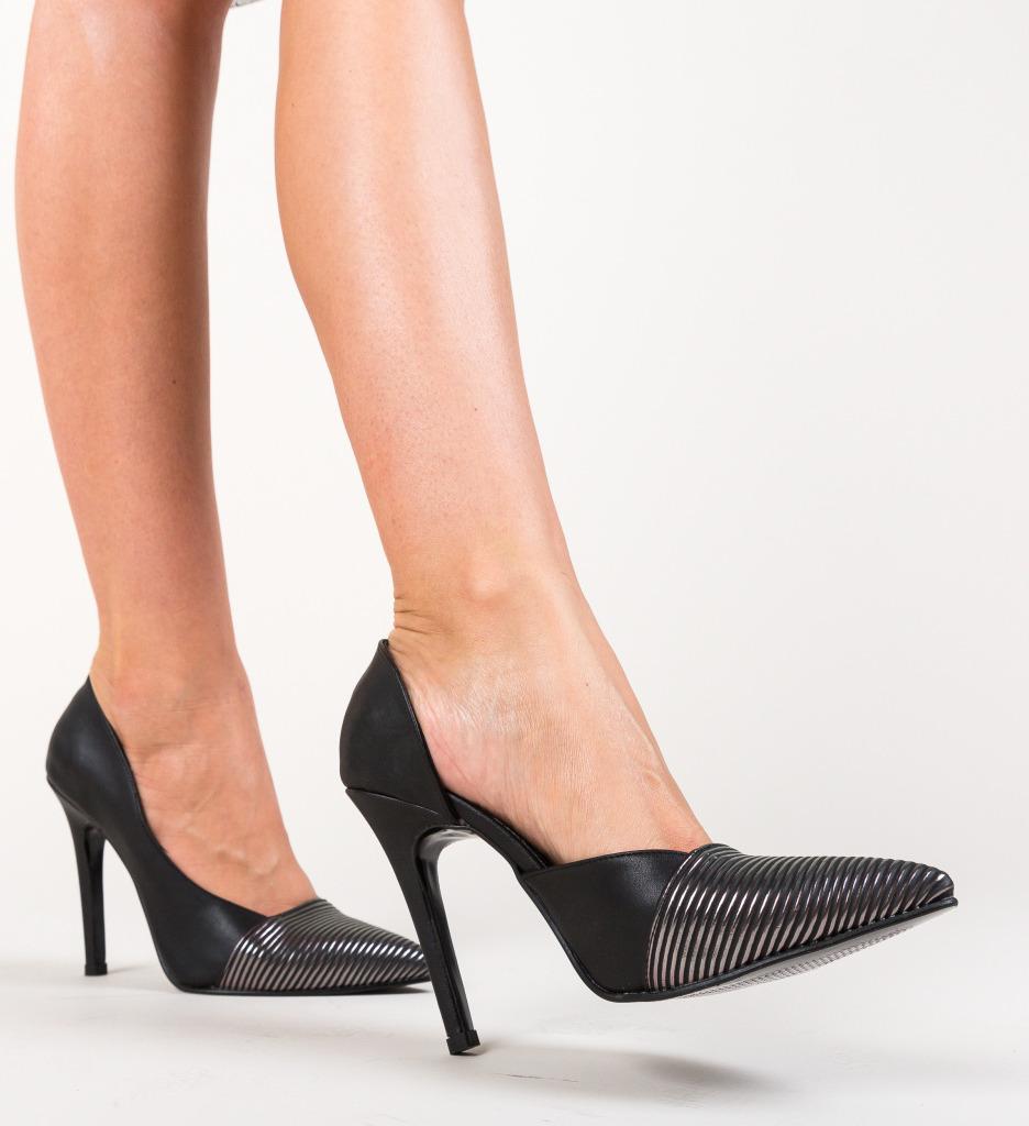 Pantofi Shanon Negri