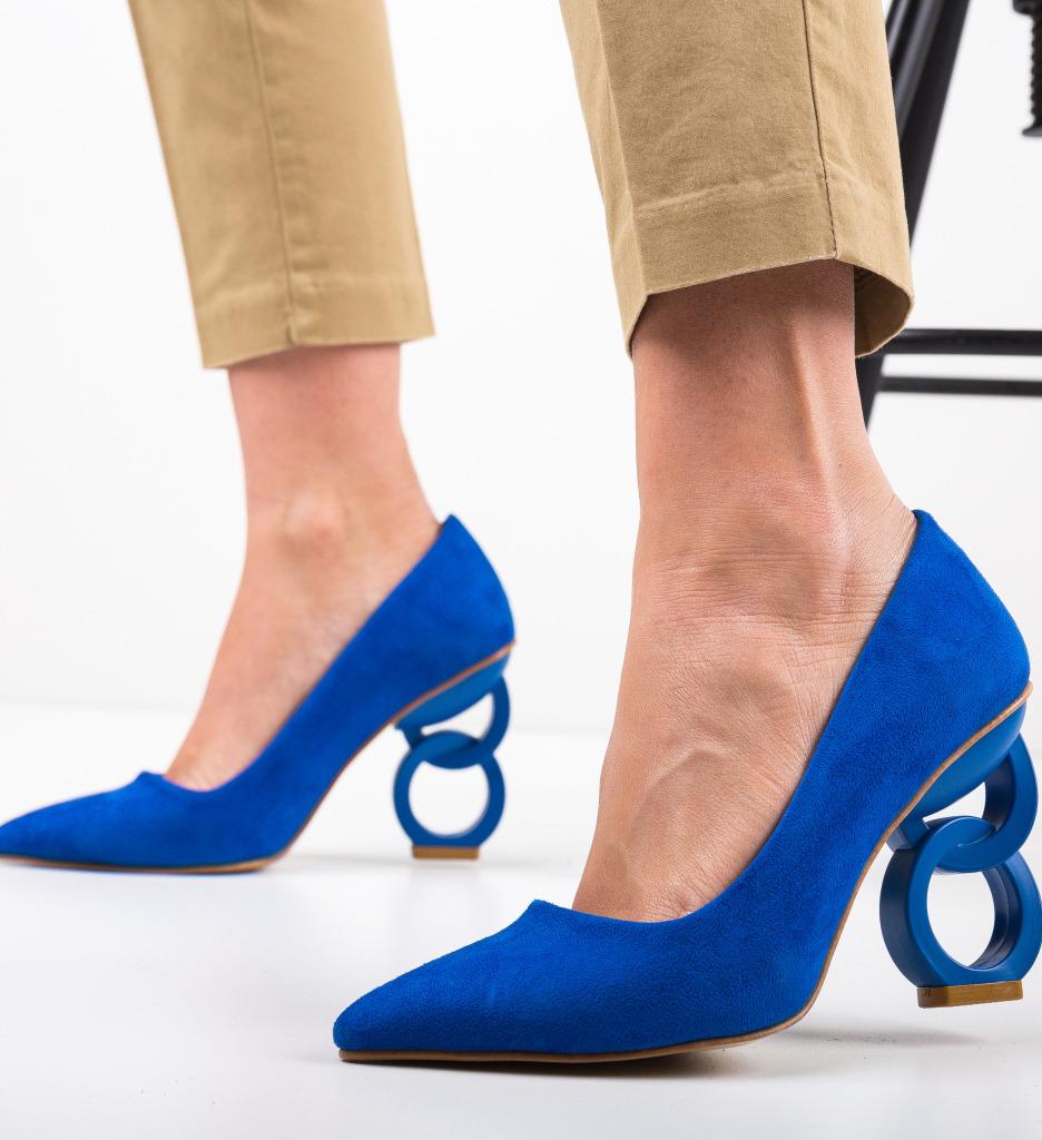 Pantofi Simoni Albastri