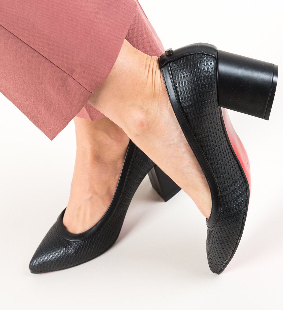 Pantofi Spic Negri imagine