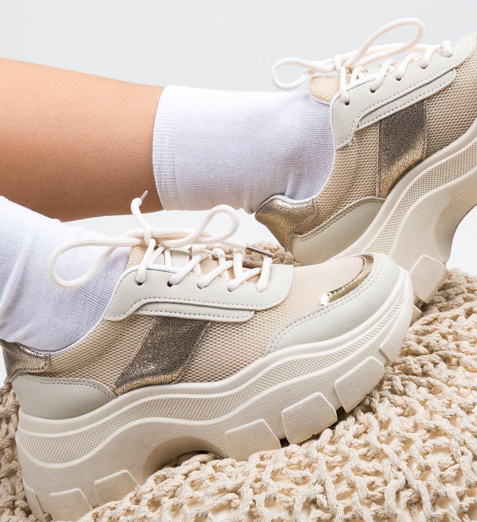 Pantofi Sport Gamey Bej