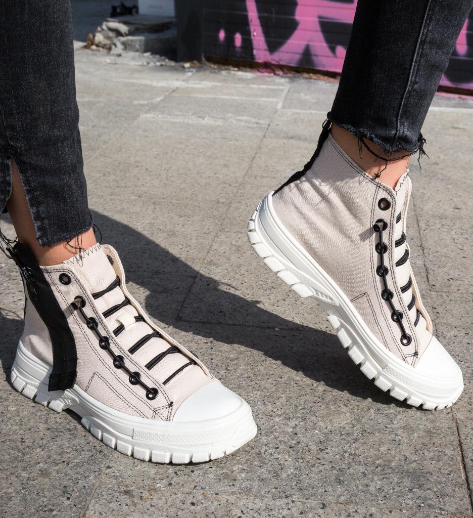 Pantofi Sport Ganta Bej
