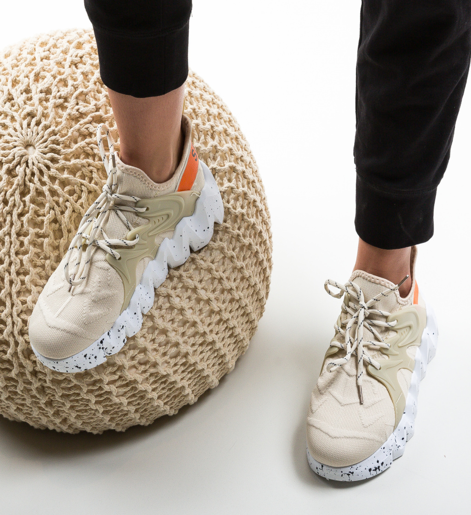 Pantofi Sport Gelmino Bej
