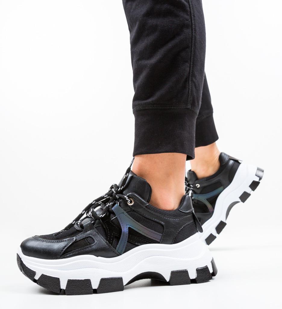 Pantofi Sport Grenmasa Negri