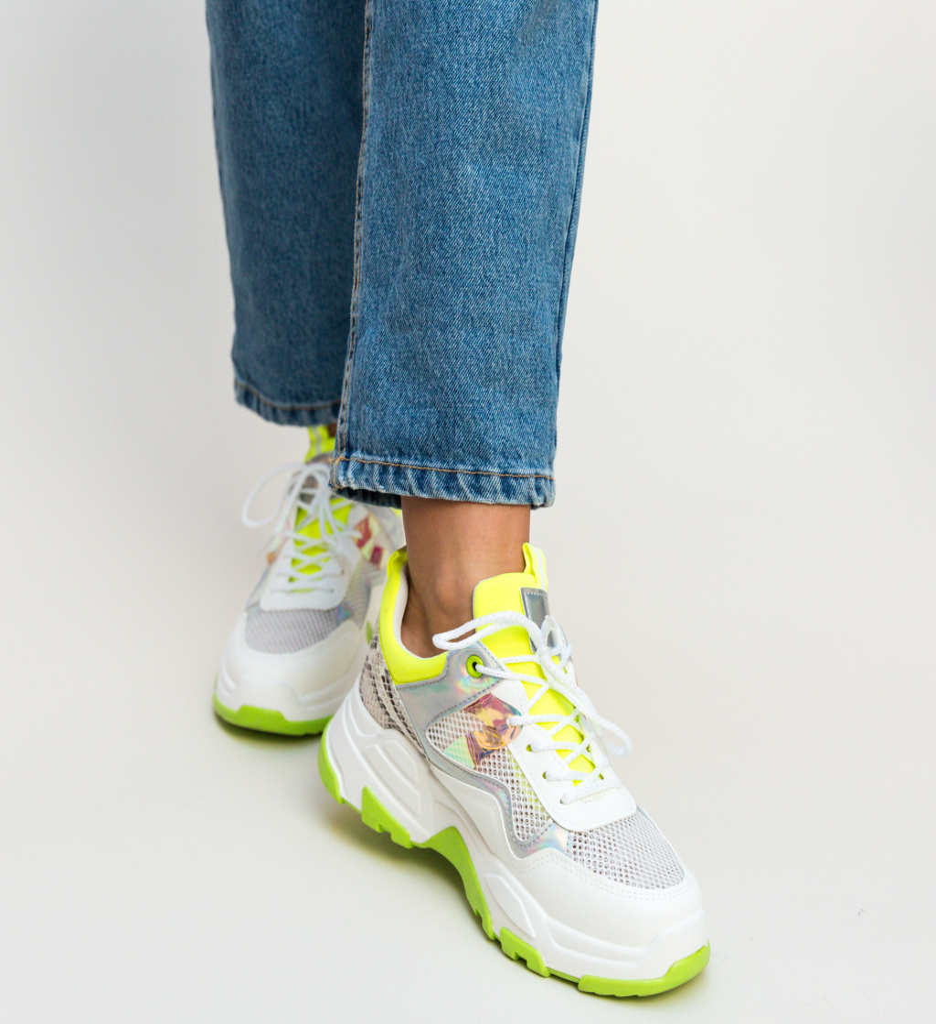 Pantofi Sport Grenor Verzi imagine 2021