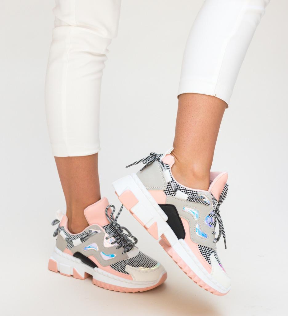 Pantofi Sport Helena Roz