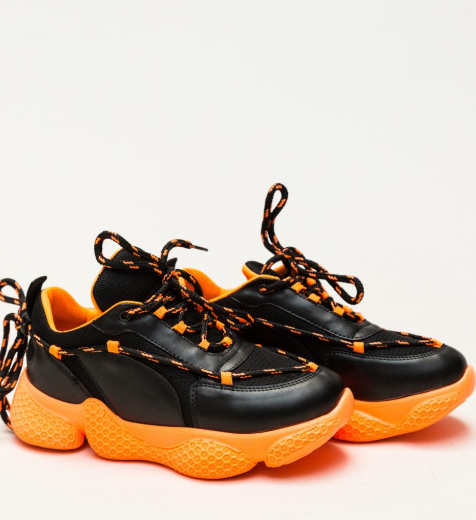Pantofi Sport Kasey Portocali