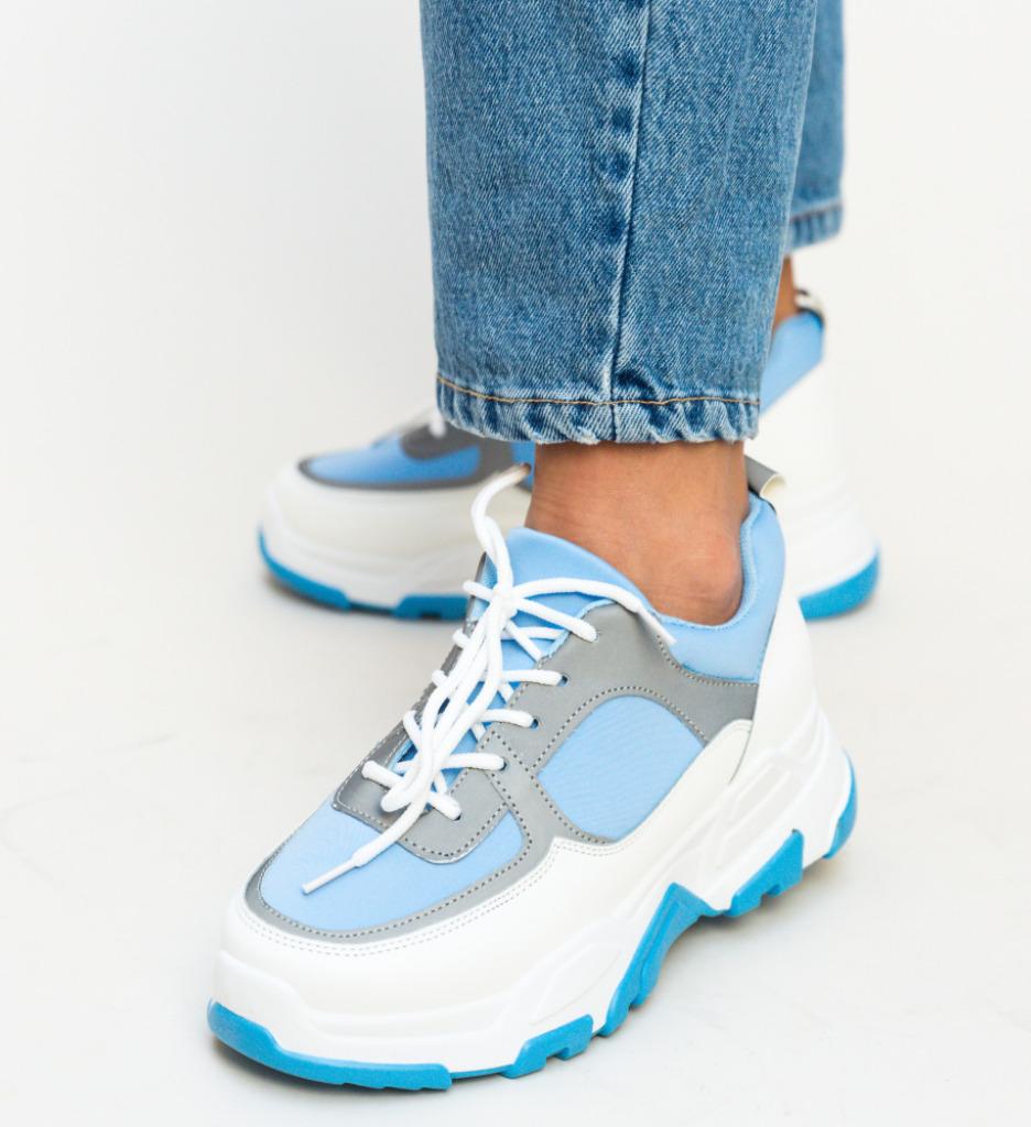 Pantofi Sport Kros Albastru